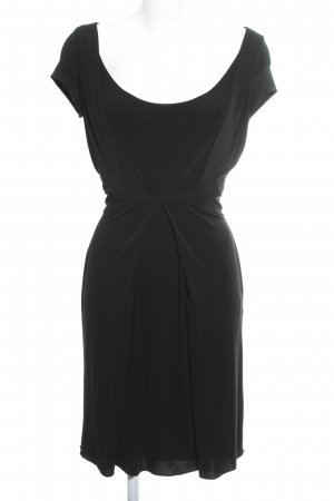 René Lezard Abendkleid schwarz Casual-Look