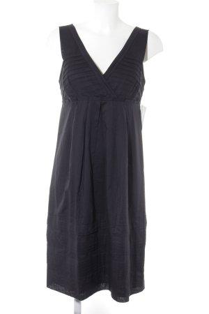 René Lezard Abendkleid dunkelblau klassischer Stil