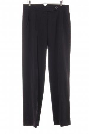 René Lezard Pantalone da abito nero elegante