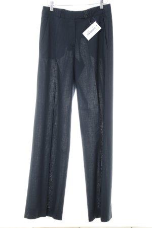 René Lezard Pantalon de costume bleu foncé style d'affaires