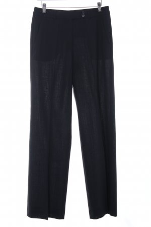 René Lezard Pantalon de costume bleu foncé style décontracté