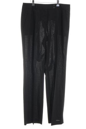 René Lezard Pantalon de costume bleu foncé-noir style d'affaires