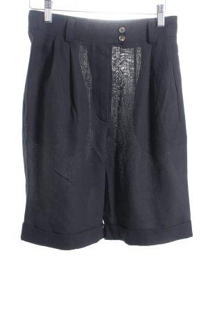 René Lezard Bermuda schwarz schlichter Stil
