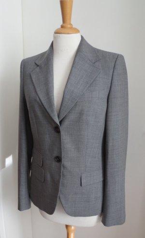 René Lezard Short Blazer silver-colored-grey
