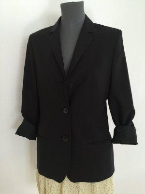 René Lezard Blazer Jacke schwarz 36 S