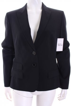René Lezard Blazer schwarz Business-Look