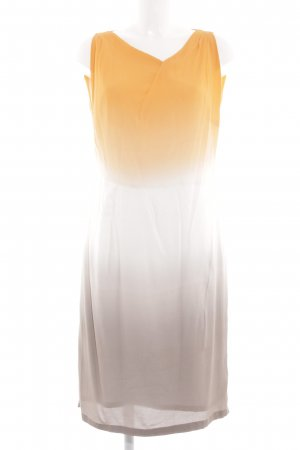 René Lezard Blusenkleid blassgelb-braun Farbverlauf Casual-Look