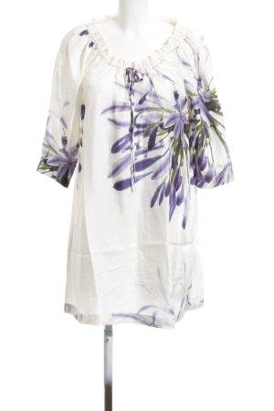 René Lezard Blusenkleid Blumenmuster Casual-Look