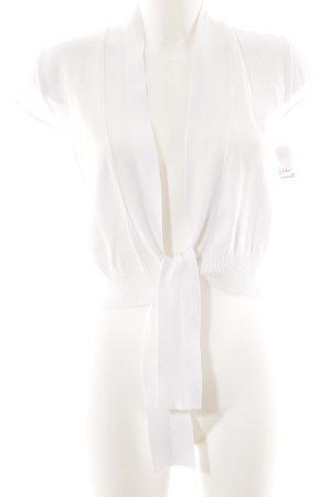 René Lezard Bolero bianco stile semplice