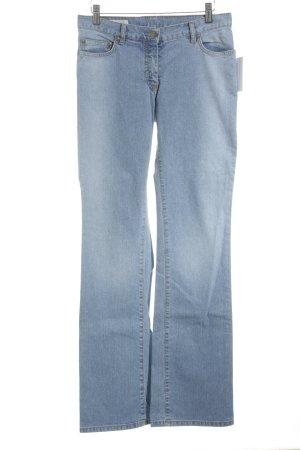 René Lezard Jeans bootcut bleu azur style décontracté