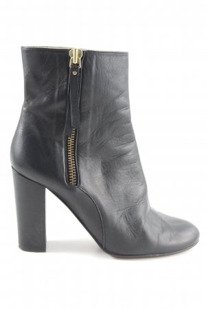 René Lezard Booties schwarz Casual-Look