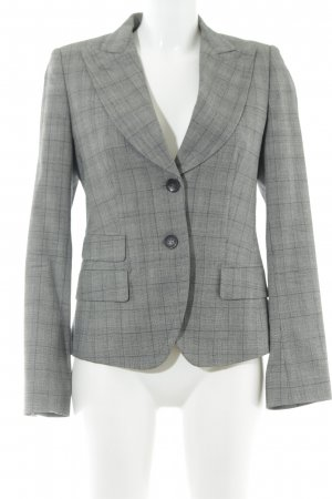 René Lezard Boyfriend Blazer glen check pattern Brit look