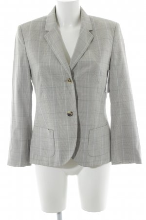 René Lezard Boyfriend Blazer check pattern business style