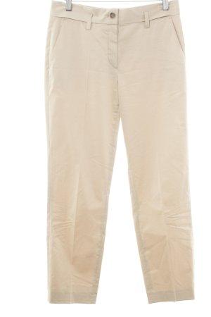 René Lezard Pantalon à pinces beige style d'affaires