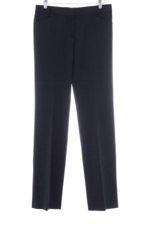 René Lezard Pantalon à pinces noir style d'affaires