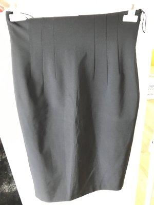 René Lezard Jupe taille haute noir