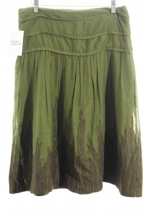 René Lezard Glockenrock grün Casual-Look
