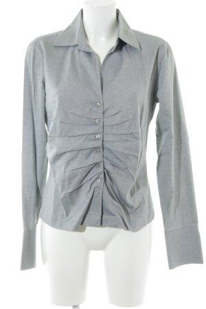 René Lezard Hemd-Bluse graugrün Casual-Look