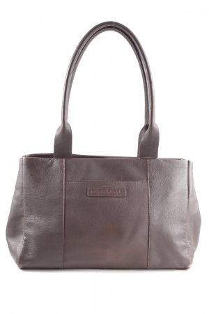 René Lezard Henkeltasche braun Business-Look