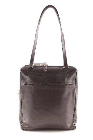 René Lezard Carry Bag black brown classic style