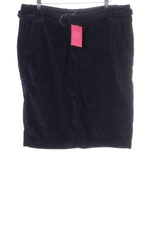 René Lezard High Waist Skirt blue casual look