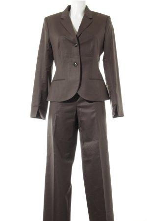 René Lezard Trouser Suit dark brown business style