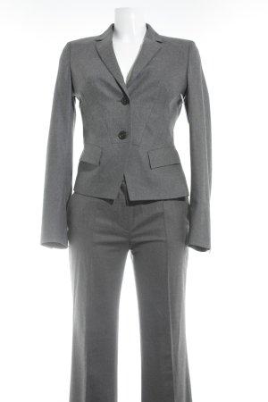 René Lezard Tailleur-pantalon gris style d'affaires