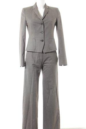 René Lezard Trouser Suit grey brown elegant