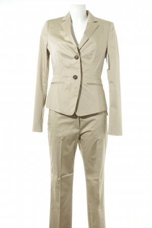 René Lezard Hosenanzug hellbeige Business-Look