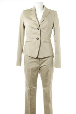 René Lezard Tailleur-pantalon beige clair style d'affaires