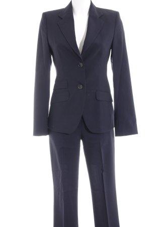 René Lezard Traje de pantalón negro estilo «business»