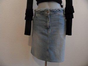 Rene Lezard Jeans Rock   Gr.40,42 Edel