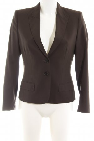 René Lezard Jerseyblazer braun Business-Look