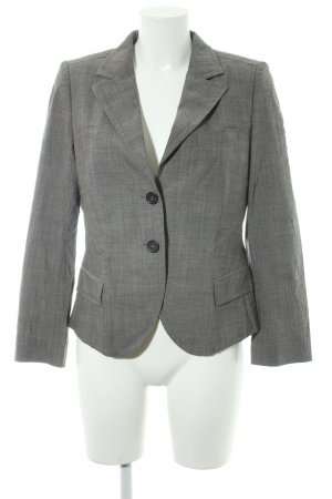 René Lezard Jerseyblazer grau Business-Look