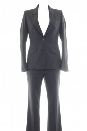 René Lezard Kostüm schwarz Business-Look