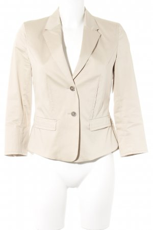 René Lezard Kurz-Blazer beige Business-Look
