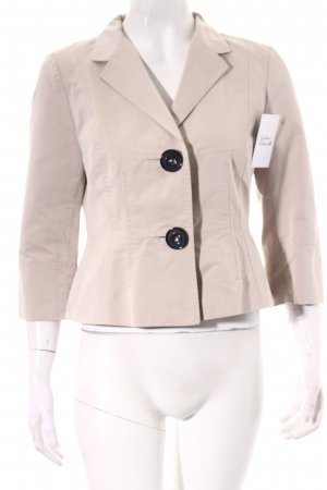 René Lezard Kurz-Blazer hellbeige Business-Look