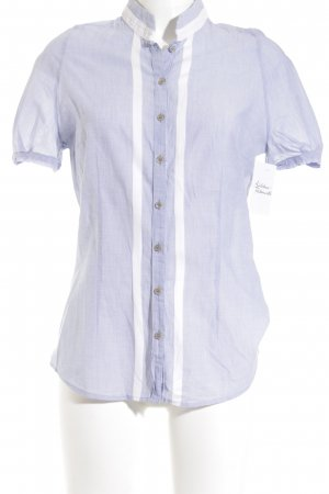 René Lezard Short Sleeve Shirt natural white-azure casual look