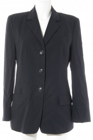 René Lezard Long-Blazer dunkelblau Business-Look
