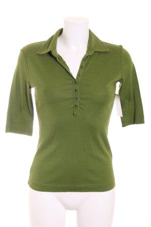 René Lezard Long Shirt khaki casual look