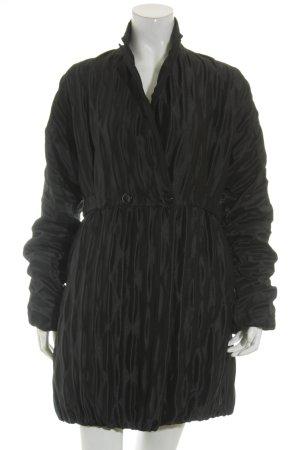 René Lezard Mantel schwarz Elegant