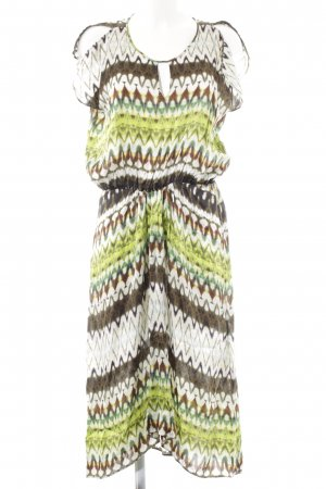 René Lezard Maxi-jurk abstract patroon Boho uitstraling