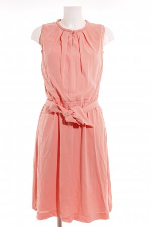René Lezard Midi Dress salmon casual look