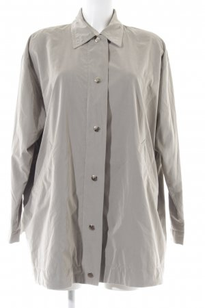 René Lezard Oversized Jacke hellgrau Casual-Look