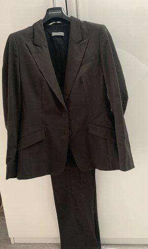 René Lezard Business Suit dark brown