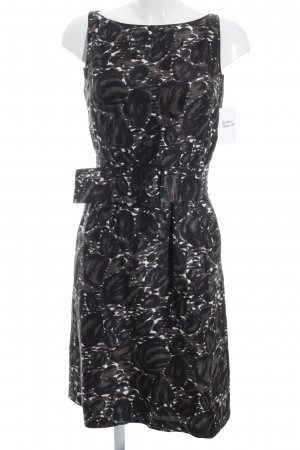 René Lezard schulterfreies Kleid abstraktes Muster Elegant