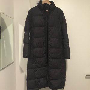 René Lezard Down Coat black mixture fibre