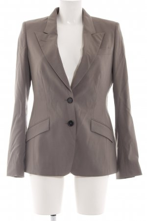 René Lezard Smoking-Blazer bronzefarben Casual-Look
