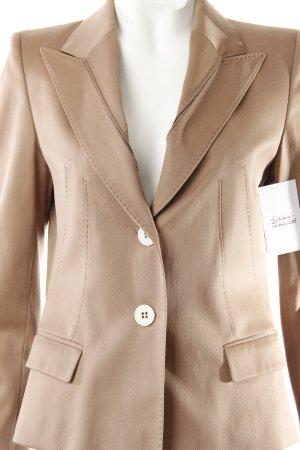 René Lezard Smoking-Blazer beige Business-Look