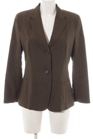 René Lezard Blazer de esmoquin marrón grisáceo estilo «business»